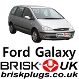 Replacement spark plugs for ford galaxy lpg CNG Methane vr6 zetec performance Brisk Plugs UK