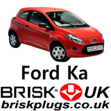 Spark plugs replacement for new Ford Ka Ecoboost Turbo zetec Brisk Premium Plugs UK
