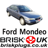 Ford Spark plugs recommended for Mondeo Zetec Brisk premium lpg cng metano