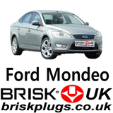 Mondeo ST 2.5 Turbo replacement spark plugs, motorcraft bosch ngk denso brisk UK