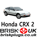 Honda CRX Brisk Spark Plugs replacement parts for tuning racing recommended