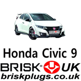 Honda Civic Servicing parts Brisk Spark Plugs UK