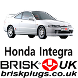 Spark Plugs For Honda Integra Type R Brisk Racing Tuning LPG CNG GPL