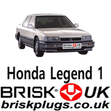 Honda Legend Parts Misfire Brisk Spark Plugs UK for Japanese Cars NGK Denso Bosch