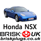 Honda NSX Parts For Sale Spark Plugs Brisk Racing Tuning more power Vtec UK USA Asia