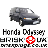 Honda Odyssey Spare Parts Brisk Spark Plugs UK