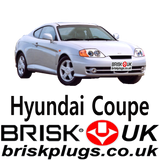 Brisk Racing Spark Plugs for Hyundai Coupe servicing replacement LPG GPL CNG Methane