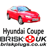 Hyundai S Coupe Problems running misfire bad spark plug servicing Brisk Racing UK