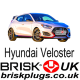 Hyundai Veloster Brisk Racing Spark Plugs More power tuning better economy