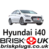 Hyundai i40 recommended spark plugs replacement intervals Brisk Racing USA AU Asia