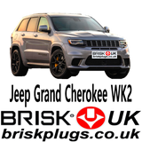 JEEP WK2 Brisk Racing Spark Plugs Grand Cherokee Trackhawk SRT8 Hellcat Tuning