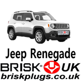 Jeep Renegade Brisk Performance Spark Plugs Golden Lodge Tuning Racing 1.4 turbo multijet