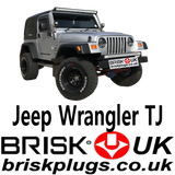 Jeep Wrangler TJ Brisk Spark Plugs replacement parts spares ignition AMC tuning power 4.0