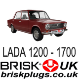 Lada 1200 1700 Vaz 2101 2102 2103 2106 classic old timer spark plugs performance tuning Brisk Racing