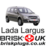 Lada Largus Logan Spark plugs performance tuning more power brisk racing UK Shipping to Russia