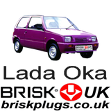 Lada Oka replacement spark plugs performance tuning Brisk Racing UK shipping delivery to Russia