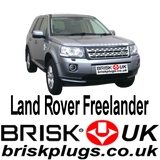 Land Rover Freelander 2 1.8 3.2 KV6 Series Brisk Racing Spark Plugs Tuning LPG CNG GPL LNG