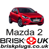 Mazda 2 Brisk Performance Spark Plugs Ignition parts coils racing tuning
