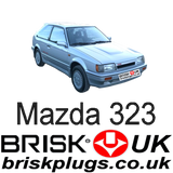 Mazda 323 Turbo 4x4 Brisk Spark Plugs Racing Performance replacement tuning