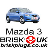 Mazda 3 BK MPS DISI Brisk spark plugs tuning racing lpg cng lng replacement recommended