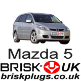 Mazda 5 CR19 Brisk Spark Plugs Tuning Performance replacement Shipping to Japan Hong Kong Asia