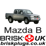 Mazda B Ranger Recommended Brisk Spark Plugs more power upgrade