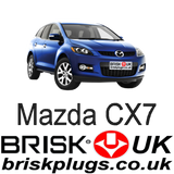 Mazda CX7 MZR DISI Brisk Spark Plugs Tuning Performance Racing