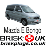 Mazda E Bongo Brisk Spark Plugs replacement tuning more power lower emissions