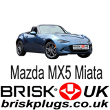 Mazda MX5 4 Miata 124 performance upgrade Brisk Racing Spark Plugs tuning more power