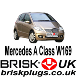 Mercedes A class W169 Brisk Performance Spark Plugs Tuning Upgrade ignition