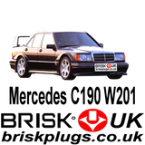 Mercedes C190 Cosworth AMG Brisk Spark Plugs Racing Tuning motorsport Lower Emission