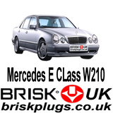 Mercedes E W210 E55 E43 Kompressor Spark Plugs Brisk Performance Ignition tuning more power dyno