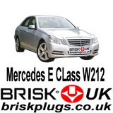 Mercedes E W212 E63 AMG Kompressor Brisk Spark Plugs Tuning Racing More Power LPG CNG