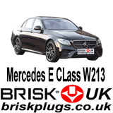 Mercedes E W213 E63 E43 AMG Kompressor Brisk Spark Plugs Tuning Racing More Power