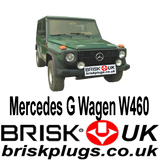 Mercedes G Wagen W460 Brisk Spark Plugs Tuning 4x4 trials racing more power Champion Bosch