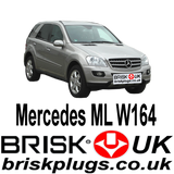 Mercedes ML W164 ML63 AMG Brisk Performance Upgrade Spark Plugs More Power Lower Consumption fix Misfire