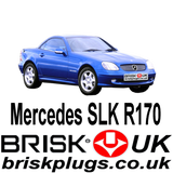 Mercedes SLK R170 AMG Kompressor Brisk Spark Plugs Upgrade Ignition parts tuning