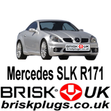Mercedes SLK R171 55 AMG Brabus Spark Plugs Brisk UK ignition upgrade performance parts
