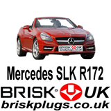 Mercedes SLK R172 AMG Brabus Spark Plugs Brisk Tuning Performance Upgrade