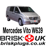 Mercedes Vito W639 Brisk Spark Plugs LPG CNG GPL Propane performance recommended replacement