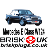 Mercedes W124 Brisk Spark Plugs Performance Upgrade Plugs for E200 E3320 AMG E280 E500 E220 E300