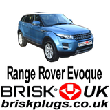 Range Rover Evoque Brisk Performance Spark Plugs Racing Tuning LPG GPL LNG CNG