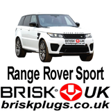 Range Rover Sport 2 Brisk Spark Plugs racing Tuning SVR more power LPG CNG