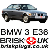 BMW E36 replacement tuning spark plugs BRISK uk M3 Evo drifting ignition