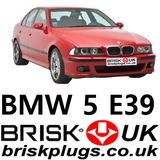 BMW E39 5 series performance spark plugs and ignition system more power