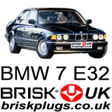 E32 7 series bmw recommended replacement spark plugs Brisk Racing Tuning