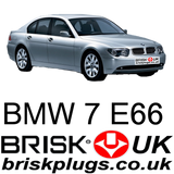 BMW 7 series E66 730i 740i 745i 750i 760il ignition problems fixed replacement performance spark plugs
