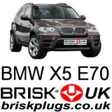 BMW X5 e70 Spark plugs LPG GPL CNG LNG METHANE Tuning racing more power fix problem