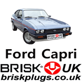 Brisk Spark Plugs for Ford Capri Racing RS Injection Performance parts