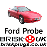 Spark Plugs For FORD Probe performance upgrade giving more power Brisk Racing UK